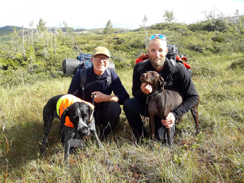 Tareskogens Rogg og Ketil Arntsen. Hedda av Brandsegg Søndre og Rune Fossum